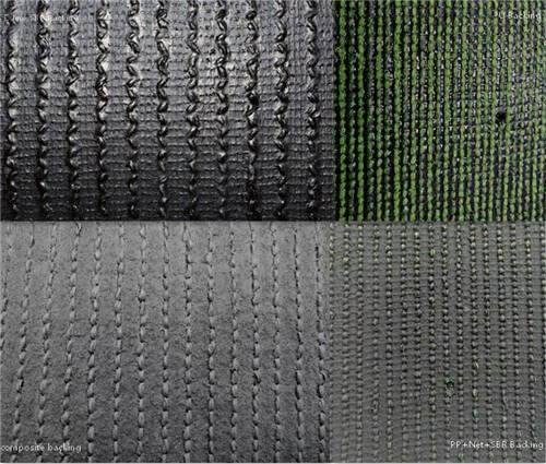 This is the artificial grass backing cases, there is mian different backing types