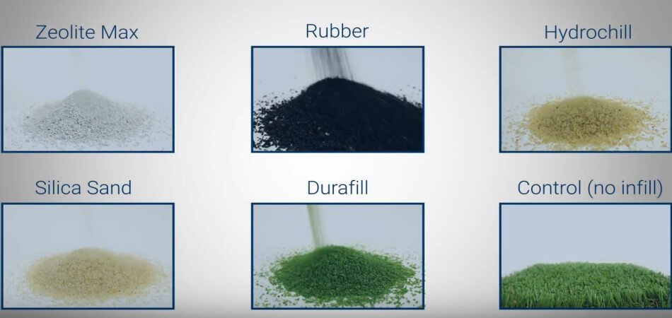 type of turf infill