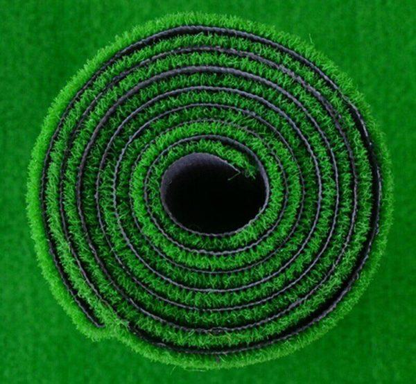Green Mini Golf Putting Green Artificial Grass roll