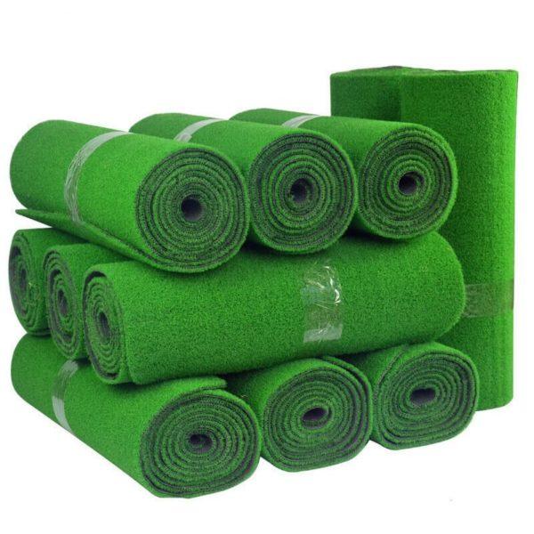 Green Mini Golf Putting Green Supermarket Artificial Grass rolls
