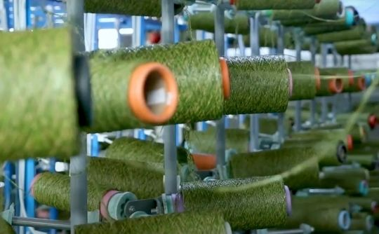 artificial grass jcturf fiber factory
